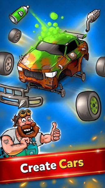 Battle Car Tycoon на Android & IOS (Много Денег)