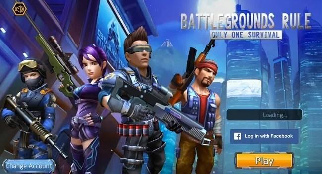 Battlegrounds Rule: Only One Survival Взлом на Андроид. Бесплатное Золото, Бриллианты и другое