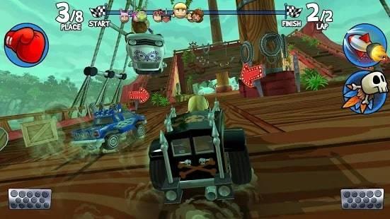 Beach Buggy Racing 2 на Android & IOS (Монеты и Кристаллы)