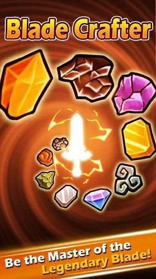Blade Crafter Взлом на Золото, Материалы и Драгоценные камни для Android и IOS