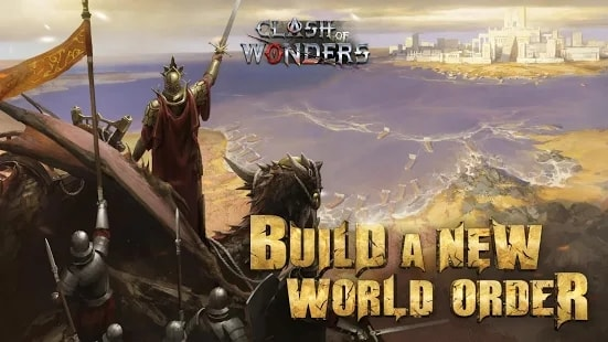 Clash of Wonders на Android & IOS. Много Ресурсов