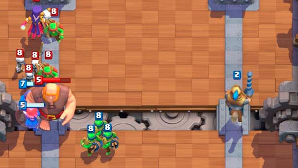 Clash Royale колоды для 1 арены