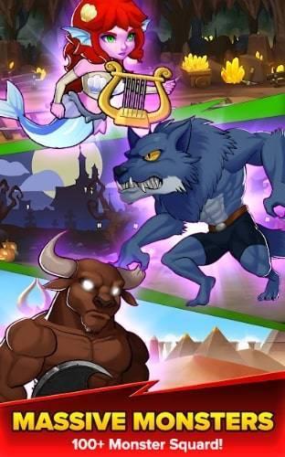Epic Monsters на Android & IOS. Нескончаемое Золото, Рубины, Души и Серебро
