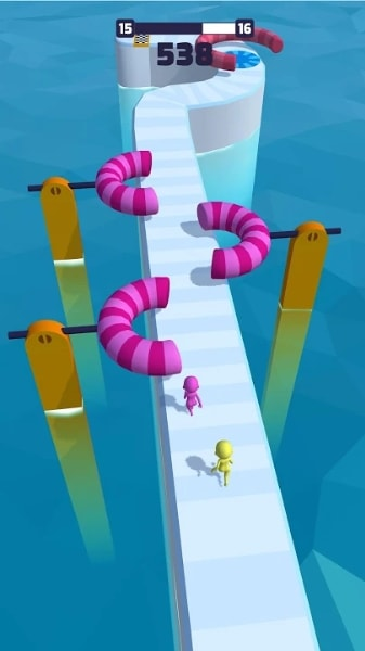 Fun Race 3D — Много Денег на Android & IOS