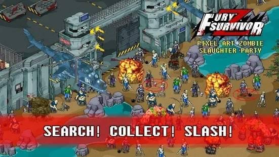 Fury Survivor: Pixel Z на Андроид. Бесплатные Читы