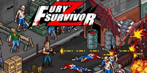 Fury Survivor Pixel Z на Андроид. Коды на деньги