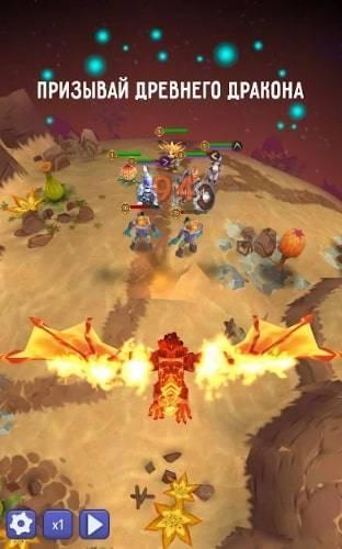 Hero Masters на Android и IOS. Открыть всех Героев и получить Ресурсы