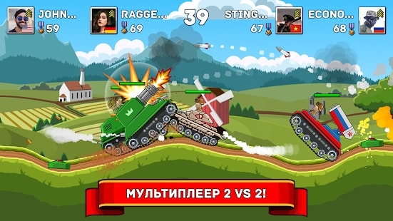 Hills of Steel — Много Денег на Android & IOS