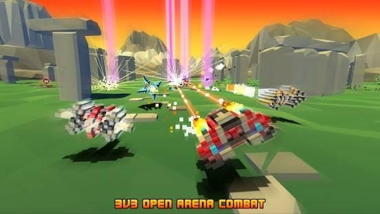 Hovercraft: Battle Arena на Android & IOS (Монеты и Камни)
