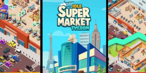 Idle Supermarket Tycoon деньги. Коды на Андроид, бесплатно