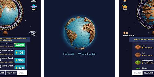 Idle World, Энергия, Кристаллы, Коды на Андроид, Бесплатно