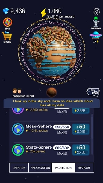 Idle World на Android & IOS (Читы)