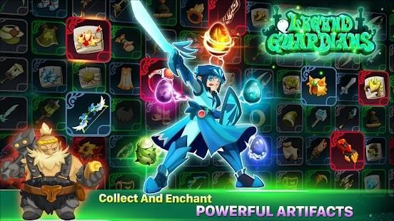 Legend Guardians на Android & IOS (Золото и Кристаллы)