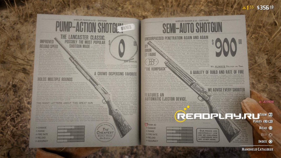Лучшее оружие в Red Dead Redemption Online