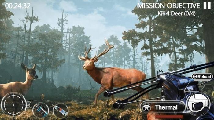 Охота на животных на Андроид. Бесплатное Золото, Серебро и Оружие