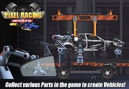 Pixel Racing на Android & IOS (Много Денег)