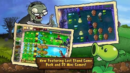 Plants vs Zombies — полная версия на Android (Много Денег)
