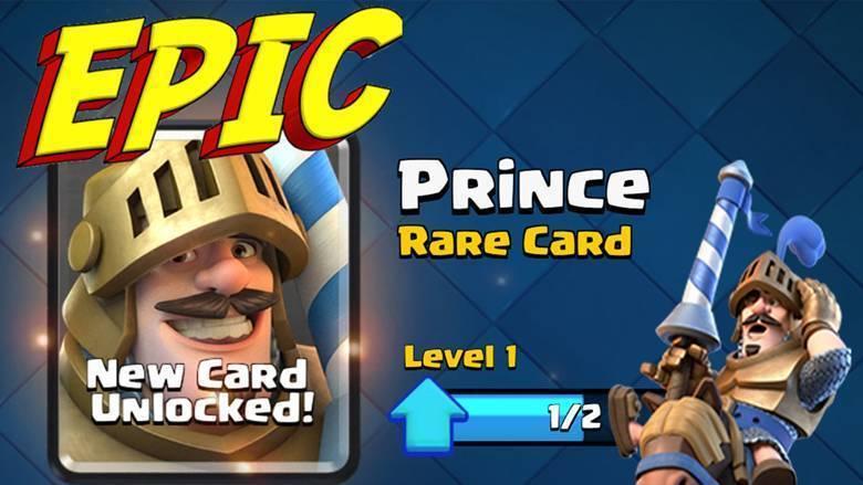 Принц в Clash Royale