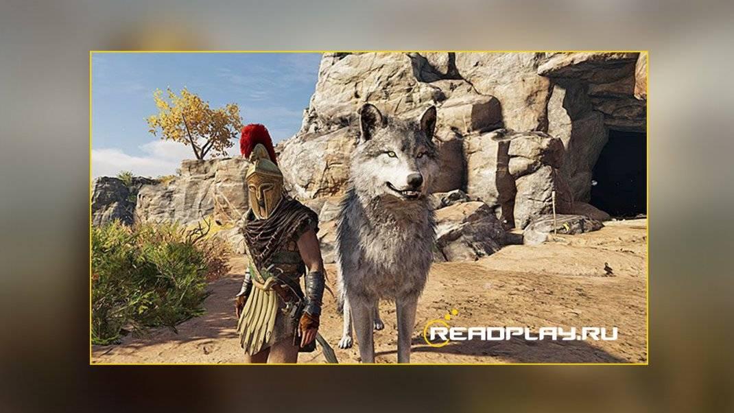 Приручаем диких зверей в Assassin's Creed Odyssey