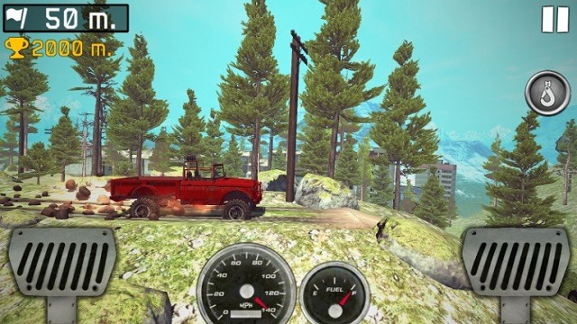 Ride to hill: Offroad Hill Climb на Android и IOS