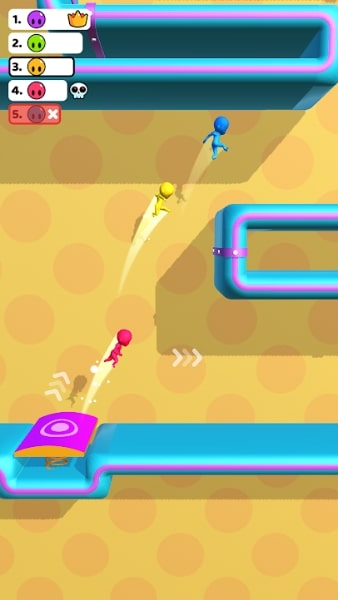 Run Race 3D на Андроид и ИОС (Много Денег)