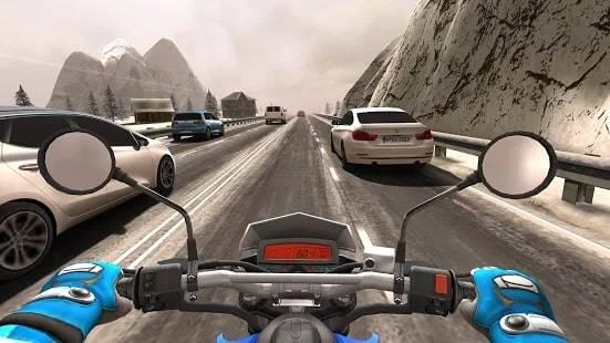 Traffic Rider Мод на Деньги и Мотоциклы (Читы)