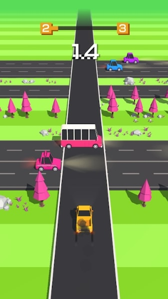 Traffic Run на Android & IOS (Много Денег)