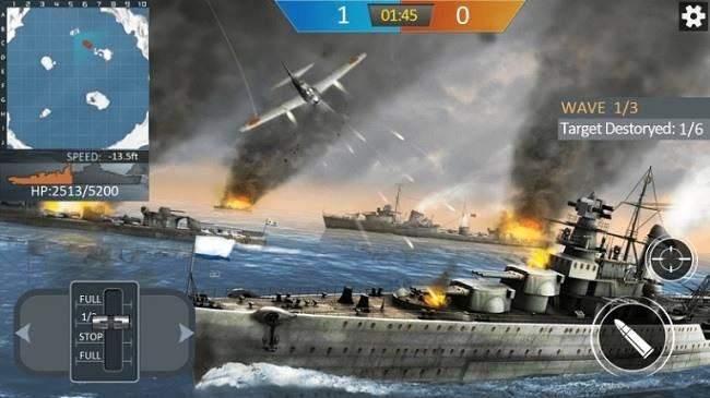 Военный корабль Мод на Золото, Серебро и Масло. Читы на Андроид
